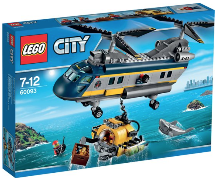 Diepzee Helikopter (City) (60093)