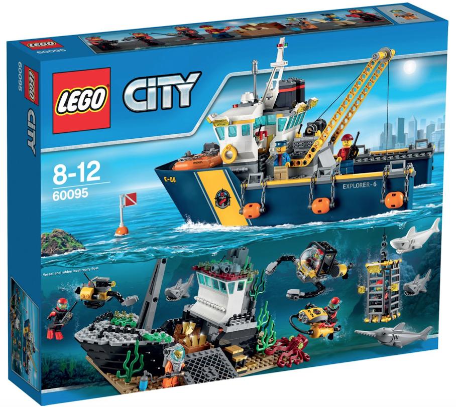 Boxart van Diepzee Onderzoeksschip (City) (60095) (City), City