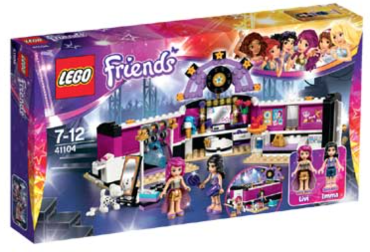 Popster Kleedkamer (Friends) (41104)