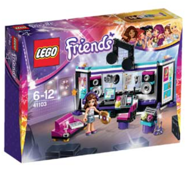 Boxart van Popster Opnamestudio (Friends) (41103) (Friends), Friends
