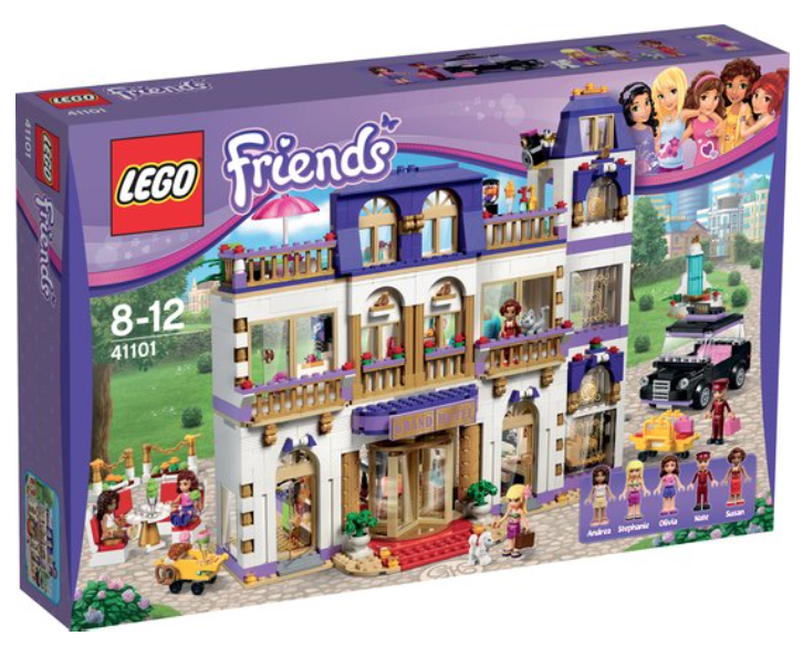Boxart van Heartlake Grand Hotel (Friends) (41101) (Friends), Friends