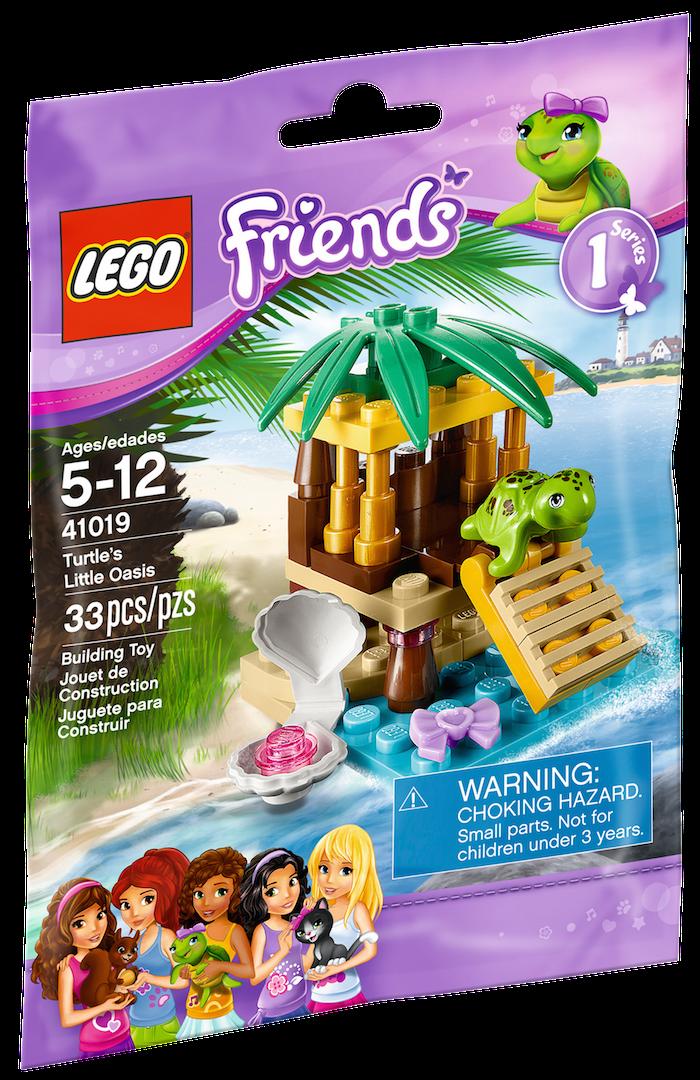 Boxart van De Vijver Van Schildpad (Friends) (41019) (Friends), Lego Friends