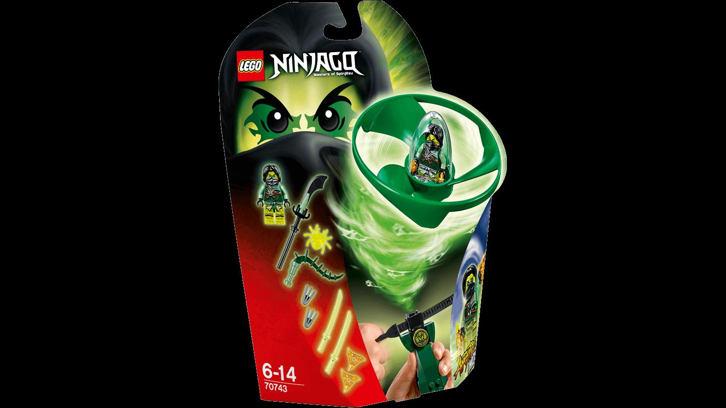 Boxart van Airjitzu Morro Flyer (Ninjago) (70743) (Ninjago), Lego Ninjago