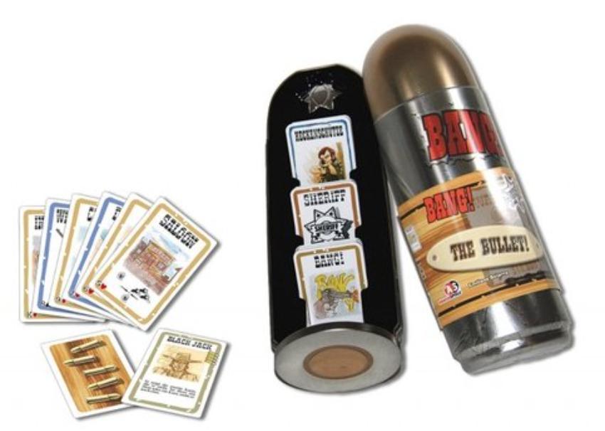 Boxart van Bang! The Bullet (Bordspellen), Da Vinci Games