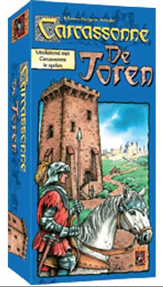 Carcassonne Uitbreiding: de Toren (Bordspellen), 999 Games