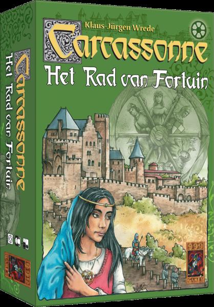Boxart van Carcassonne: Het Rad van Fortuin (Bordspellen), 999 Games