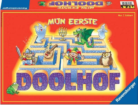 Boxart van Mijn Eerste Doolhof (Bordspellen), Ravensburger
