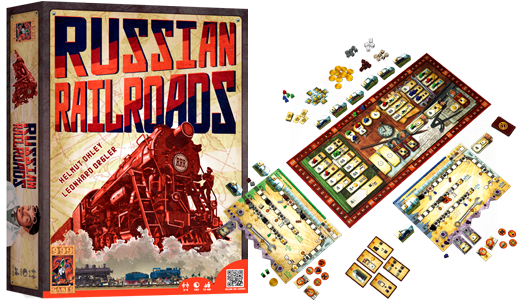 Boxart van Russian Railroads (Bordspellen), 999 Games