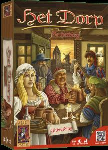 Boxart van Het Dorp Uitbreiding: De Herberg (Bordspellen), 999 Games