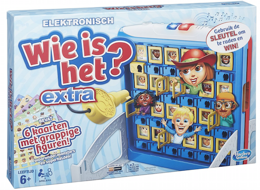 Boxart van Wie is het: Extra  (Bordspellen), Hasbro Games