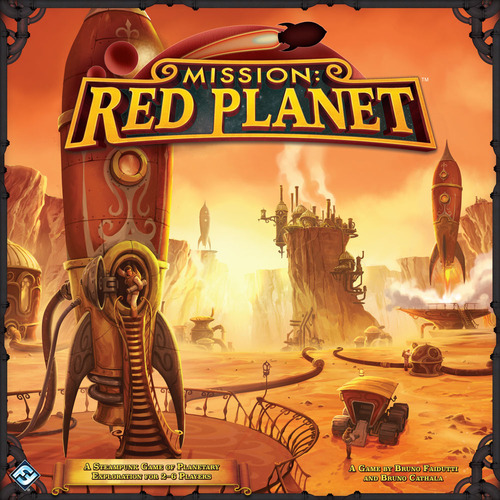 Boxart van Mission: Red Planet (Bordspellen), Fantasy Flight
