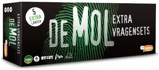 Boxart van Wie is de Mol Uitbreiding: Extra Vragensets (Bordspellen), Just2Play