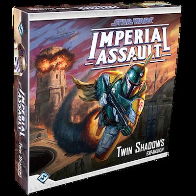 Boxart van Star Wars Imperial Assault Uitbreiding: Twin Shadows (Bordspellen), Fantasy Flight Games