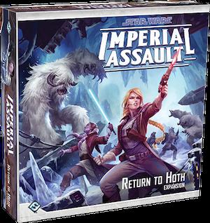 Boxart van Star Wars Imperial Assault Uitbreiding: Return to Hoth (Bordspellen), Fantasy Flight Games