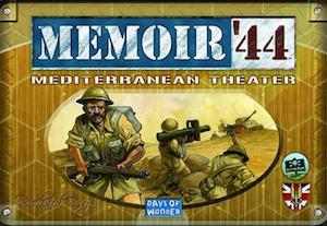 Boxart van Memoir '44 Uitbreiding: Mediterranean Theater (Bordspellen), Days of Wonder