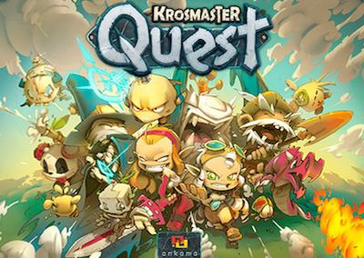 Boxart van Krosmaster Quest (Bordspellen), Japanime Games