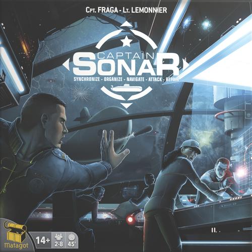 Boxart van Captain Sonar (Bordspellen), Asmodee