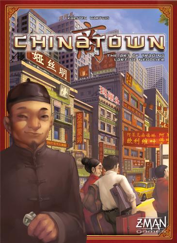 Boxart van Chinatown (Bordspellen), Z-Man Games