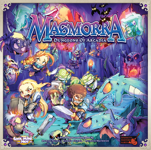 Boxart van Masmorra: Dungeons of Arcadia (Bordspellen), Cool Mini or Not