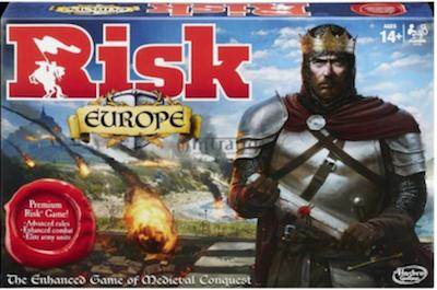 Boxart van Risk: Europe (Bordspellen), Hasbro Games