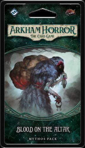 Boxart van Arkham Horror TCG Uitbreiding: Blood on the Altar (Bordspellen), Fantasy Flight Games