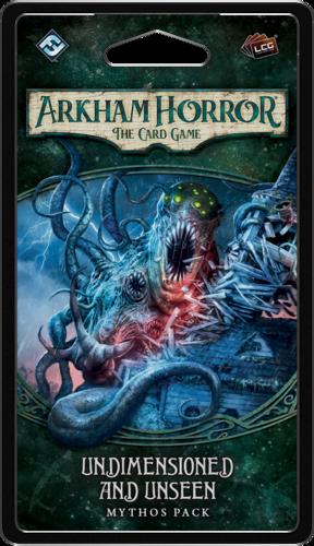 Boxart van Arkham horror TCG Uitbreiding: Undimensioned and Unseen[ENG] (Bordspellen), Fantasy Flight Games