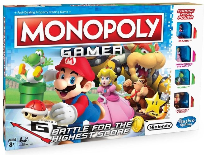 Boxart van Monopoly: Gamer (Bordspellen), Hasbro