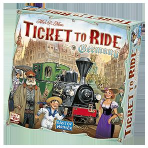 Boxart van Ticket to Ride: Duitsland (Bordspellen), Days of Wonder