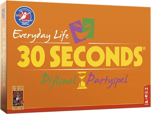 Boxart van 30 Seconds: Everyday Life (Bordspellen), 999 Games