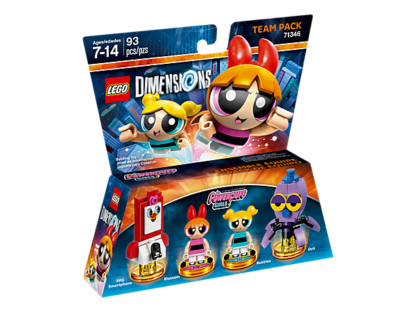 Het Powerpuff Girls Team Pack (Dimensions) (71346)