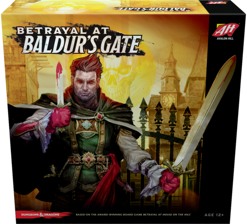 Betrayal at Baldur's Gate (Dungeons & Dragons) (Bordspellen), Wizards of the Coast