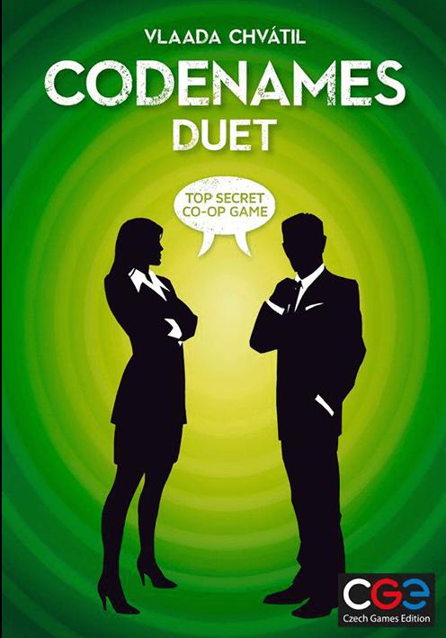 Boxart van Codenames: Duet (NL) (Bordspellen), White Goblin Games