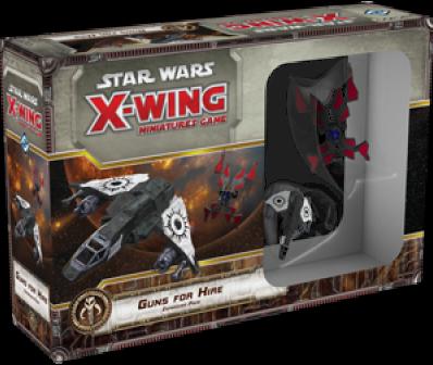 Boxart van Star Wars X-Wing Miniatuur: Guns for Hire (Bordspellen), Fantasy Flight Games
