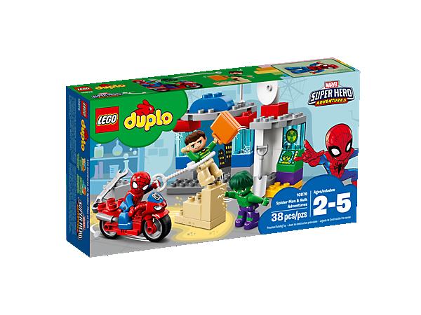 Boxart van Avonturen van Spider-Man en Hulk (Duplo) (10876) (Duplo), Duplo