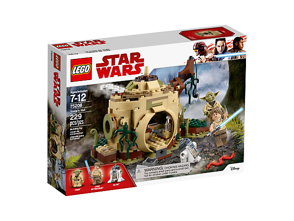 Boxart van Yoda's Hut (Star Wars) (75208) (StarWars), Star Wars