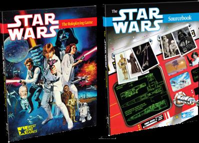 Boxart van Star Wars: The Roleplaying Game 30th Anniversary Edition RPG Book (Bordspellen), Fantasy Flight Games