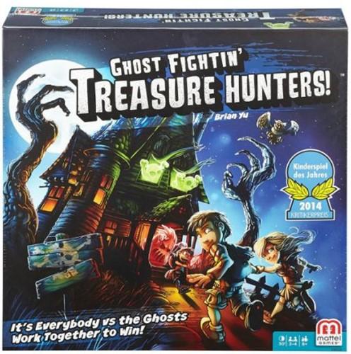 Boxart van Schatzoekers In Het Spookhuis/ Ghost Fightin' Treasure Hunters! (Bordspellen), Mattel