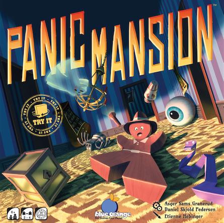 Boxart van Panic Mansion (Bordspellen), Blue Orange Games