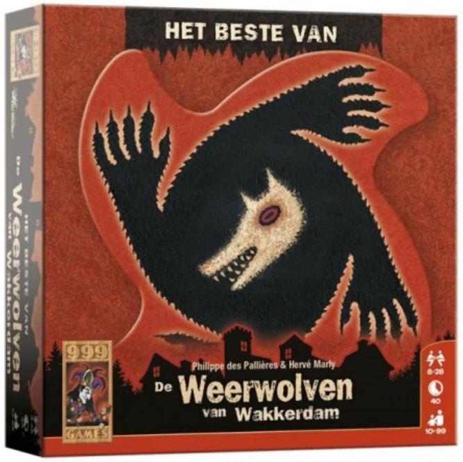 Boxart van Het Beste van de Weerwolven van Wakkerdam (Bordspellen), 999 Games