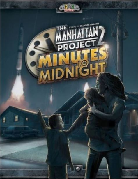 Boxart van The Manhattan Project 2: Minutes to Midnight  (Bordspellen), Minion Games