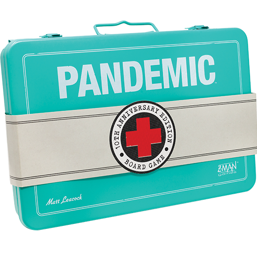 Boxart van Pandemic 10th Anniversary Edition (ENG) (Bordspellen), Z-Man Games