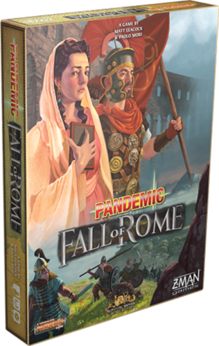 Boxart van Pandemic Fall of Rome (NL) (Bordspellen), Z-man Games