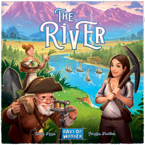 Boxart van The River (Bordspellen), Days of Wonder