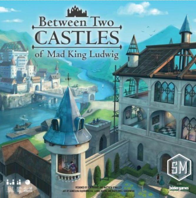 Boxart van Between Two Castles of Mad King Ludwig (Bordspellen), Stonemaier Games