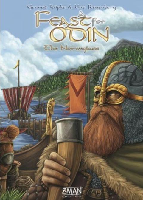 Boxart van A Feast for Odin Uitbreiding: The Norwegians (Bordspellen), Z-MAN Games
