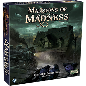 Boxart van Mansions Of Madness 2nd Edition Uitbreiding: Horrific Journeys (Bordspellen), Fantasy Flight Games