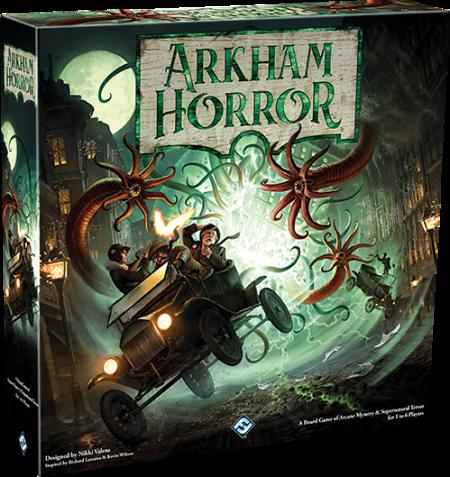 Boxart van Arkham Horror 3rd Edition (Bordspellen), Fantasy Flight Games