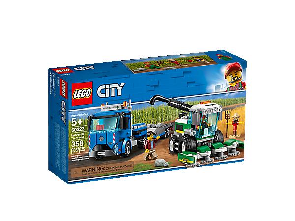Boxart van Maaidorser Transport (City) (60223) (City), City