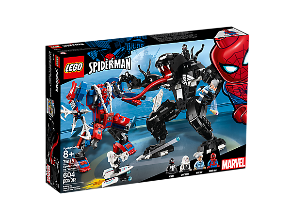 Boxart van Spider Mecha vs Venom (Marvel Super Heroes) (76115) (Marvel), Marver Super Heroes
