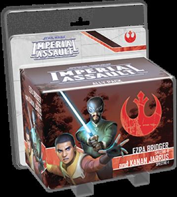 Boxart van Star Wars Imperial Assault Uitbreiding: Ally Pack Ezra Bridger & Kanan Jarrus (Bordspellen), Fantasy Flight Games